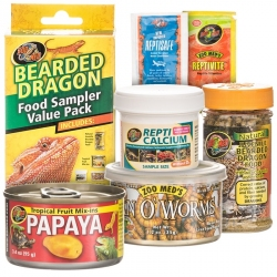 Zoo Med Bearded Dragon Food Sample Value Pack Image