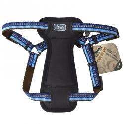 K9 Explorer Reflective Adjustable Padded Dog Harness - Sapphire Image