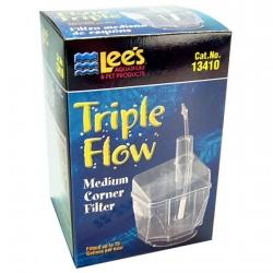 Lee's Triple Flow Corner Aquarium Filter Image