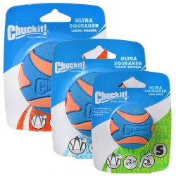 Chuckit Ultra Squeaker Ball Dog Toy Image