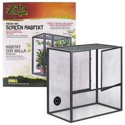 Zilla Fresh Air Screen Habitat for Reptiles Image