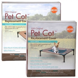K&H Pet Cot Cover - Chocolate Brown Image