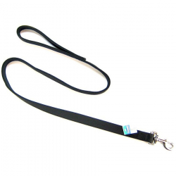 Coastal Pet Double Nylon Lead - Black Image