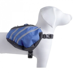 Pet Life Dupont Everest Backback for Dogs - Blue/Grey Image