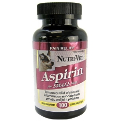 Nutri-Vet Aspirin for Small Dogs Image