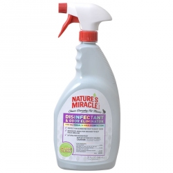 Nature's Miracle Disinfectant & Odor Eliminator Spray Image