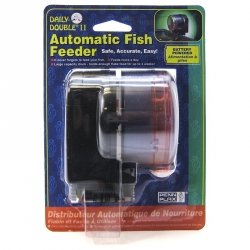 Penn Plax Daily Double II Automatic Fish Feeder Image