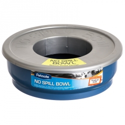 Petmate No Spill Travel Bowl - Blue Image