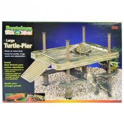 Reptology Large Floating Turtle Pier Image