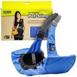 Outward Hound Sling-Go Pet Sling Carrier - Blue Image