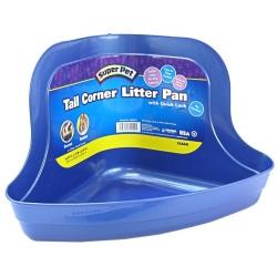 Kaytee Tall Corner Litter Pan with Quick Lock Image