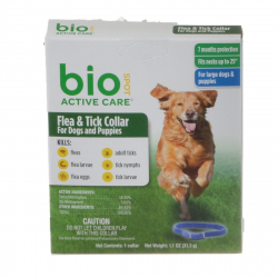 Bio Spot Active Care Flea & Tick Collar for Dogs Image