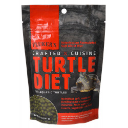 Flukers Crafted Cuisine Turtle Diet for Aquatic Turtles Image