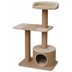 Pet Pals Pillar Cat Tree with Condo Image