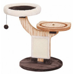 Pet Pals Twine Natural Wood Cat Tree Image