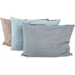 PetMate Aspen Pet Classic Stripe Pillow Bed Assorted Colors Image