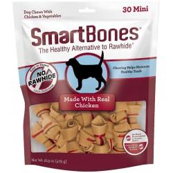 SmartBones Mini Vegetable and Chicken Bones Rawhide Free Dog Chew Image