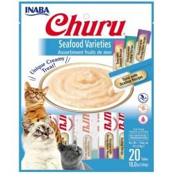 Inaba Churu Seafood Varieties Creamy Cat Treat Image