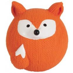 Petmate Booda Zoobilee Latex Fox Fetch Balls Dog Toy  Image