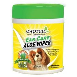 Espree Ear Care Aloe Wipes Image