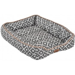 Precision Pet Ikat Snoozzy Drawer Pet Bed Gray  Image