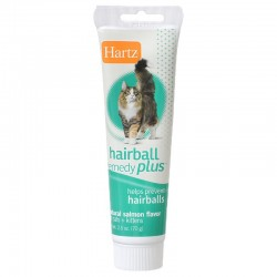 Hartz Hairball Remedy Plus Paste - Natural Salmon Flavor Image