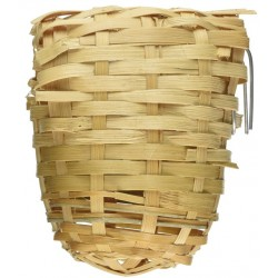 Prevue Finch All Natural Fiber Covered Bamboo Nest Image
