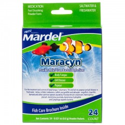 Mardel Maracyn Antibacterial Aquarium Medication - Powder Image