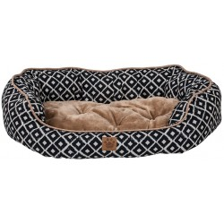 Precision Pet Ikat Snoozzy Daydream Pet Bed Navy Image