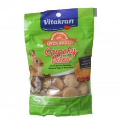 Vitakraft Oven Baked Crunchy Bites Small Pet Treats - Real Cran-Orange Flavor Image