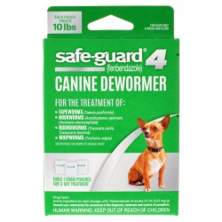 8 in 1 safe-guard 4 Canine Dewormer for Small Dogs Image