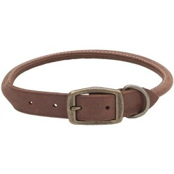 Circle T Leather Brass Round Collar Image