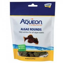 Aqueon Algae Rounds Fish Food Image