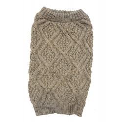 Outdoor Dog Fisherman Dog Sweater - Taupe Image