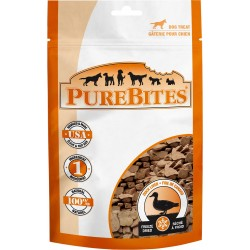 PureBites Duck Liver Freeze Dried Dog Treats Image
