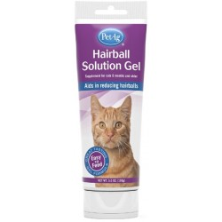 PetAg Hairball Solution Gel for Cats Image