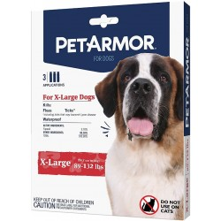 PetArmor Flea and Tick Treatment for X-Large Dogs (89-132 Pounds) Image