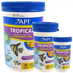 API Tropical Premium Flakes for Community Fish Image