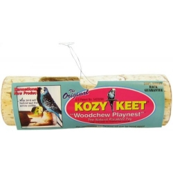Wesco Kozy Keet Woodchew Playnest for Parakeets Image