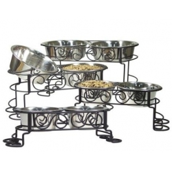 Spot Mediterranean Old World Stainless Steel Double Diner Image