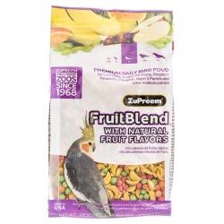 ZuPreem FruitBlend Flavor Bird Food for Medium Birds Image