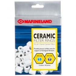 Marineland Biological Filtration Ceramic Filter Rings for C-Series & Magniflow Canister Filters Image