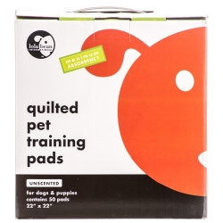 Lola Bean Quilted Pet Training Pads - Unscented Image