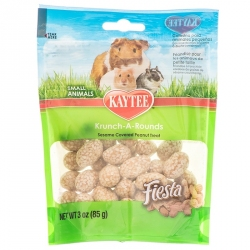 Kaytee Fiesta Krunch-A-Rounds Treat for Small Animals Image