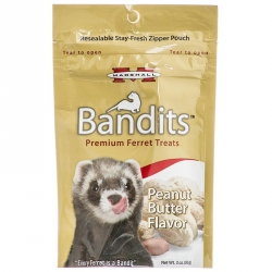 Marshall Bandits Premium Ferret Treats - Peanut Butter Flavor Image