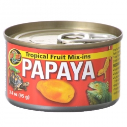 Zoo Med Tropical Fruit Mix-Ins Reptile Food - Papaya Image