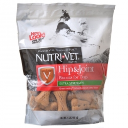 Nutri-Vet Hip & Joint Biscuits for Dogs - Extra Strength Image