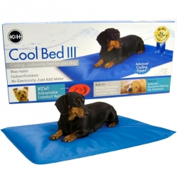 K&H Cool Bed lll - Blue Cushion Bed Image
