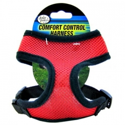 Four Paws Comfort Control Harness - Red Image