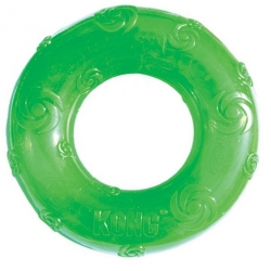 Kong Squeezz Ring Dog Toy Image